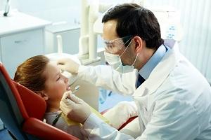 Kid's toothache exam