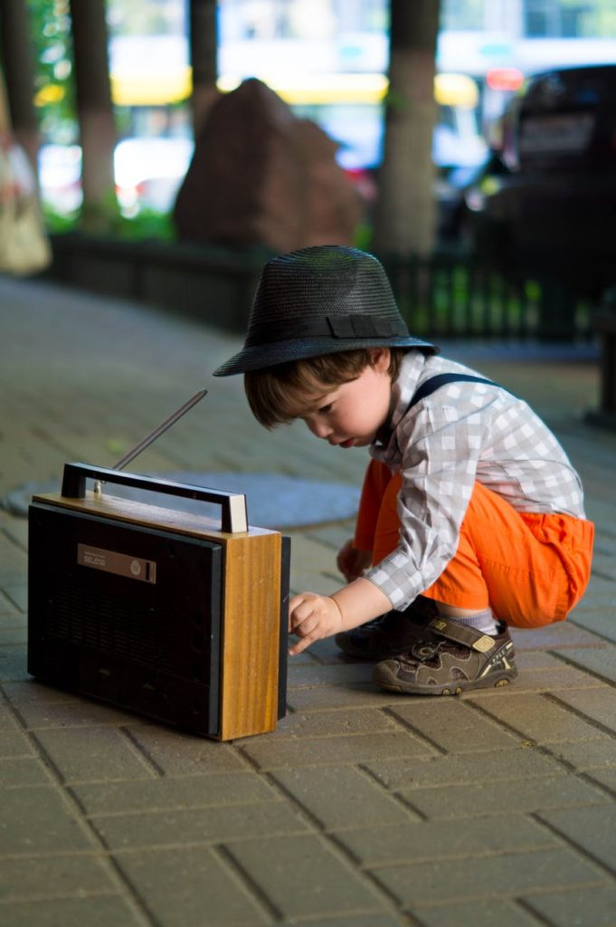 pediatric oral care - music